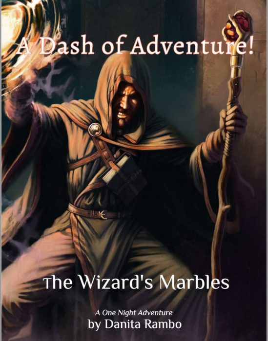 The Wizards Marbles Cover